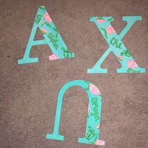 Alpha Chi Paintings